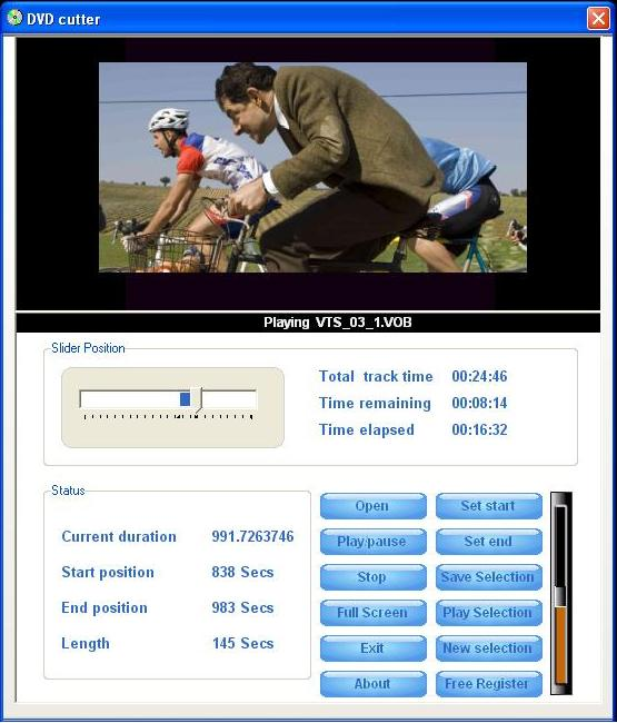 Click to view AIV DVD Cutter 1.7 screenshot